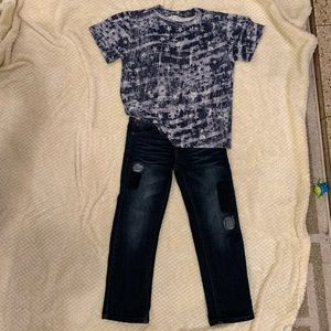 Tommy Hilfiger boys jeans and T-shirt